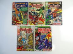 FANTASTIC FOUR LOT (Group of 5) - To include KING-SIZE ANNUALS # 4, 5, 7, 8 (1966/70) + FANTASTIC