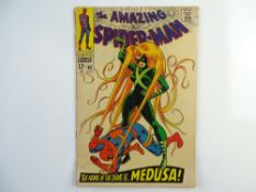 AMAZING SPIDER-MAN # 62 - (1968 - MARVEL - Cents Copy) - Classic Spider-Man Cover - Spider-Man vs.