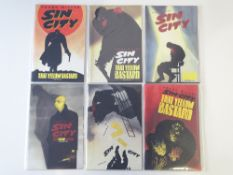 SIN CITY: THAT YELLOW BASTARD # 1, 2, 3, 4, 5, 6 (Group of 6) - (1996 - DARK HORSE - Cents Copy) -
