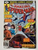 AMAZING SPIDER-MAN # 195 (1979 - MARVEL - Cents Copy) - Origin and second appearance of the Black
