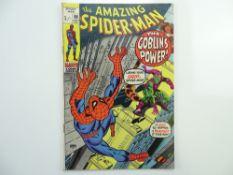 AMAZING SPIDER-MAN # 98 - (1971 - MARVEL - Pence Copy) - Green Goblin appearance + Anti-drugs