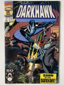 DARKHAWK # 1 - (1991 - MARVEL - Cents/Pence Copy) - Origin and first appearance of Darkhawk +