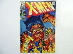 UNCANNY X-MEN # 51 - (1968 - MARVEL - Cents Copy with Pence Stamp) - First appearance (cameo) of