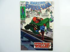 AMAZING SPIDER-MAN # 90 - (1970 - MARVEL - Cents Copy with Pence Stamp) - 'Death' of Captain Stacy +