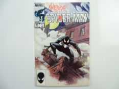 WEB OF SPIDER-MAN # 1 (1985 - MARVEL - Cents/Pence Copy) - Painted cover by Charles Vess - Flat/