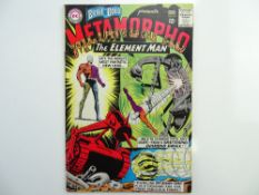 BRAVE & BOLD: METAMORPHO # 58 (1965 - DC - Cents Copy with Pence Stamp) - Second appearance of