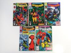 SPIDER-MAN # 8, 9, 10, 11, 12 (Group of 5) - (1991 - MARVEL - Cents/Pence Copy) - All 5 x issues