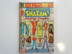 SHAZAM # 12 - SIGNED - (1974 - DC - Cents Copy with Pence Stamp) - SIGNED - Signed three times by