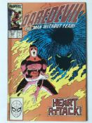 DAREDEVIL # 254 (1988 - MARVEL - Cents/Pence Copy) - Origin and first appearance of Typhoid Mary -