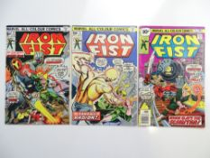 IRON FIST # 3, 4, 5 (Group of 3) - (1976 - MARVEL - Pence Copy) - Flat/Unfolded - a photographic