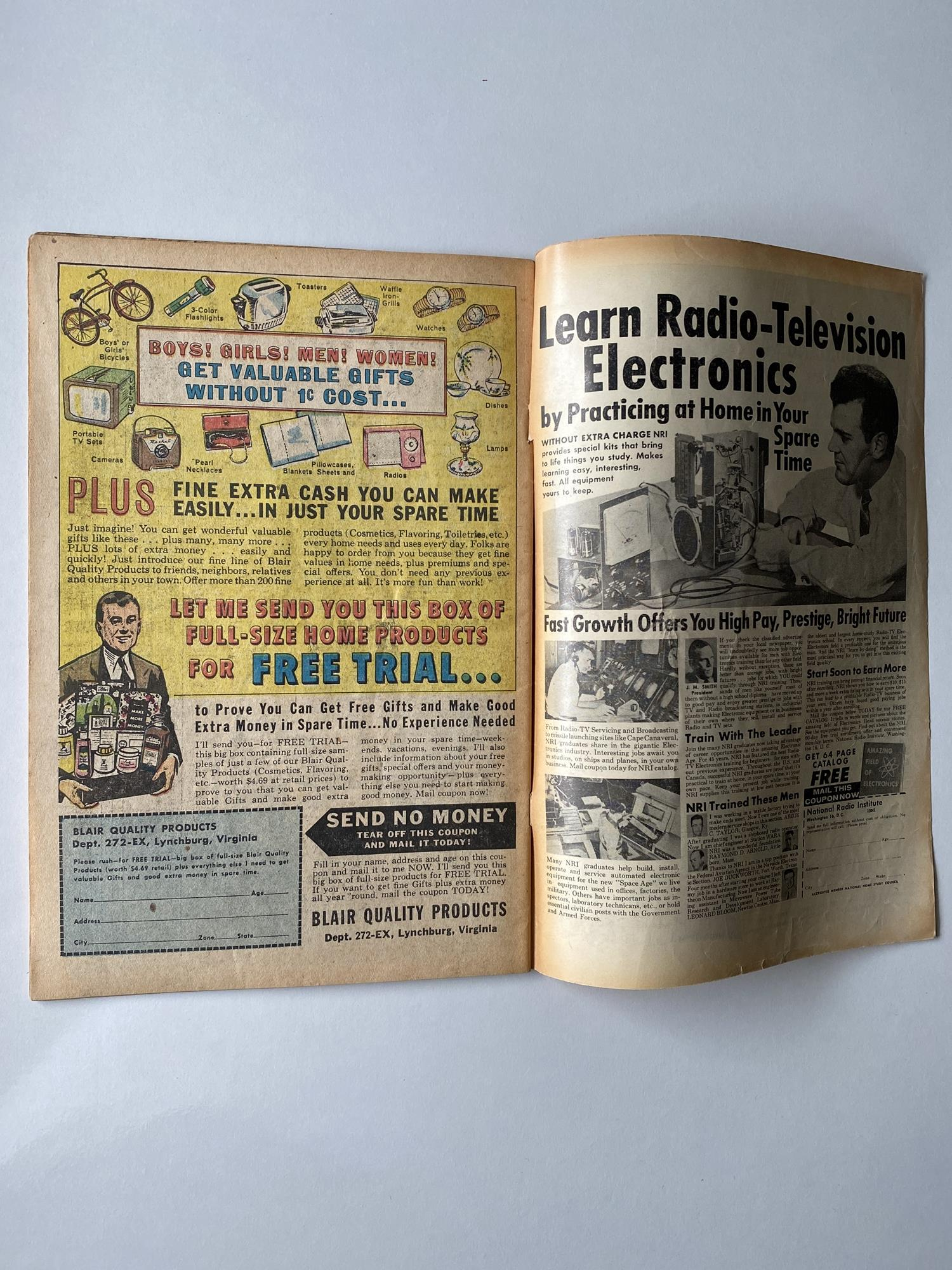 Lot 5 - JOURNEY INTO MYSTERY # 75 - (1961 - MARVEL - Cents Copy) - Cover by Jack Kirby + Kirby, Steve