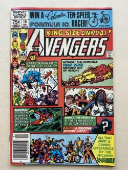 AVENGERS ANNUAL # 10 - (1981 - MARVEL - Cents Copy) - First appearances of Rogue and Madelyne