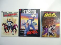 PUNISHER TRADE PAPERBACK LOT (Group of 3) to include PUNISHER: NO ESCAPE (1990 Cents/Pence Copy) +