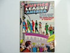 JUSTICE LEAGUE OF AMERICA # 19 (1963 - DC - Cents Copy) - Justice League of America battle Doctor