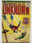 ADVENTURES INTO THE UNKNOWN # 158 - (1965 - ACG CENTS Copy) - Jay Kafka cover - Flat/Unfolded - a