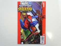 ULTIMATE SPIDER-MAN # 1 - (2000 - MARVEL - Cents Copy) - First Ultimate title - Mark Bagley cover