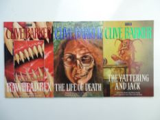 CLIVE BARKER HORROR LOT (Group of 3) - (ECLIPSE) to include RAWHEAD REX (1994) + LIFE OF DEATH (