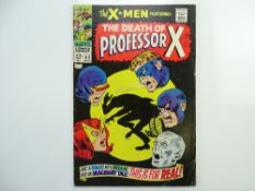 "UNCANNY X-MEN # 42 - (1968 - MARVEL Cents Copy with pence stamp) - ""Death"" of Professor X +"