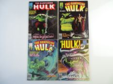 RAMPAGING HULK # 4, 5, 7, 22 (Group of 4) - (1977/80 - MARVEL - Cents Copy) - All have painted