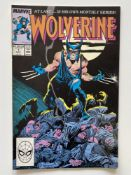 WOLVERINE #1 - (1988 - MARVEL Cents/Pence Copy) - First ongoing series + First appearance of