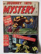 JOURNEY INTO MYSTERY # 75 - (1961 - MARVEL - Cents Copy) - Cover by Jack Kirby + Kirby, Steve