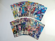 UNCANNY X-MEN LOT (Group of 22) - (MARVEL Cents/Pence Copy) - To include UNCANNY X-MEN (1990/92) #