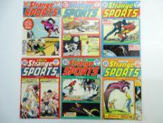 STRANGE SPORTS STORIES # 1, 2, 3, 4, 5, 6 (Group of 6) - (1973/74 - DC - Cents Copy) - Flat/Unfolded