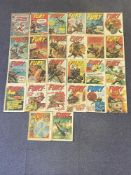 CAPTAIN BRITAIN, 2000 AD, FURY LOT (Group of 26) - (BRITISH MARVEL & IPC MAGAZINES Pence Copy) -