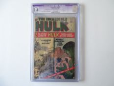 INCREDIBLE HULK # 4 - (1962 - MARVEL - Cents Copy) - Graded 1.8 by CGC - Purple Tab detailing
