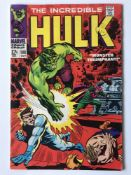 HULK # 108 (1968 - MARVEL - Cents with Pence Stamp) - Hulk battles Mandarin + Nick Fury and S.H.I.