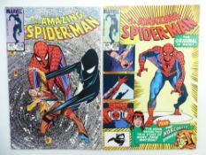 AMAZING SPIDER-MAN # 258 & 259 (Group of 2) - (1984 - MARVEL - Cents/Pence Copy) - Spider-Man's