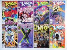 UNCANNY X-MEN # 246, 247, 248, 249, 250, 251, 252, 253 (Group of 8) - (1989 - MARVEL Cents/Pence