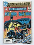 BRAVE & BOLD: BATMAN # 200 (1983 - DC - Cents/Pence Copy) - Last issue + First appearance of