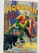 AQUAMAN # 37 - (1968 - DC - Cents Copy with Pence Stamp) - Classic Aquaman Cover - First