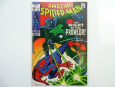 AMAZING SPIDER-MAN # 78 - (1969 - MARVEL - Cents Copy) - Origin and first appearance of the