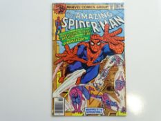 AMAZING SPIDER-MAN # 186 - (1978 - MARVEL - Cents Copy) - Flat/Unfolded - a photographic condition