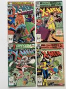 UNCANNY X-MEN # 150, 151, 152, 153 (Group of 4) - (1981/82 - MARVEL Cents/Pence Copy) - Magneto