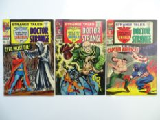 STRANGE TALES: DOCTOR STRANGE + NICK FURY: AGENT OF SHIELD # 154, 157, 159 (Group of 3) - (1967 -