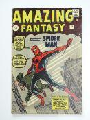 AMAZING FANTASY #15 (1962 - MARVEL) (Pence Copy)