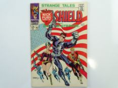 STRANGE TALES # 167 - (1968 - MARVEL - Cents Copy) - Classic flag cover by Jim Steranko with