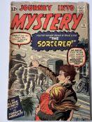 JOURNEY INTO MYSTERY # 78 - (1962 - MARVEL - Cents Copy) - The Sorcerer (a Doctor Strange prototype)