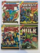 MARVEL TREASURY EDITIONS LOT (Group of 4) - (1974/78 - MARVEL Cents & Pence Copy) - Lot includes #