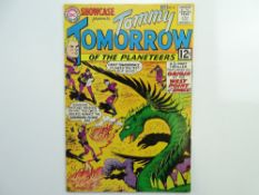 SHOWCASE: TOMMY TOMORROW # 41 (1962 - DC - Cents Copy) - New costume and origin of Tommy