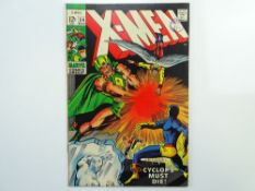 UNCANNY X-MEN # 54 - (1969 - MARVEL - Cents Copy with Pence Stamp) - First appearance of Alex