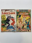 LOIS LANE # 70 & 124 (Group of 2) - (1966/72 - DC Cents with Pence Stamp) - First Silver Age