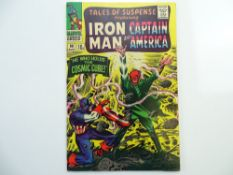 TALES OF SUSPENSE # 80 (1966 - MARVEL - Pence Copy) - Classic Red Skull cover by Jack Kirby - The