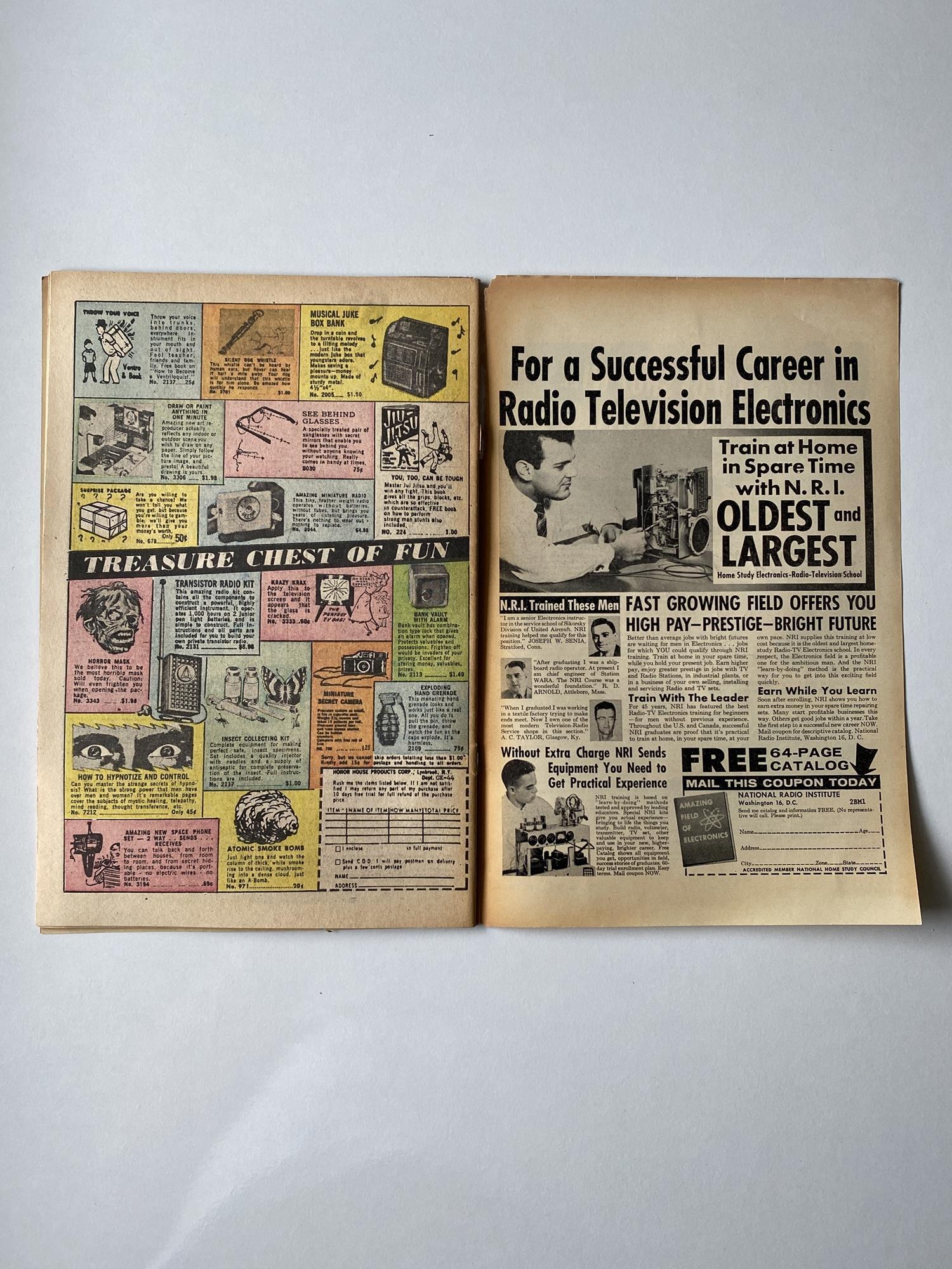 Lot 4 - JOURNEY INTO MYSTERY # 77 - (1962 - MARVEL - Pence Copy) - Jack Kirby cover + Kirby and Steve