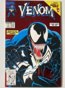VENOM: LETHAL PROTECTOR # 1 (1993 - MARVEL - Cents/Pence Copy) - First Venom solo title + Spider-Man