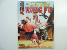 """DEADLY HANDS OF KUNG FU # 12 (1975 - MARVEL - Cents Copy) - Neal Adams """"Man With the Golden Gun"""""""