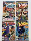 UNCANNY X-MEN # 146, 147, 148, 149 (Group of 4) - (1981 - MARVEL Cents/Pence Copy) - First